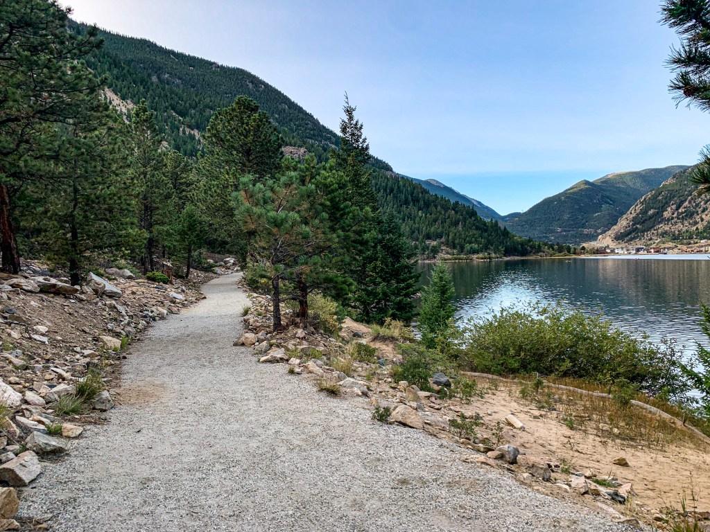 Weekend in Georgetown, Colorado, Lake, Walking Path