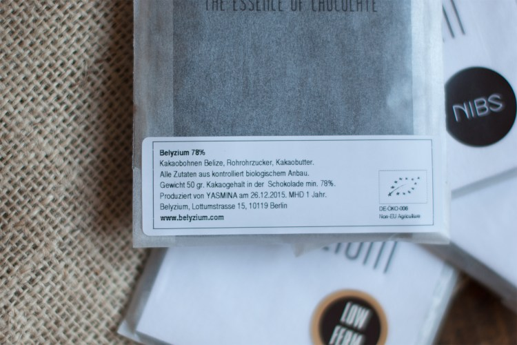 """""""Made by Yasmina"""" is a nice touch in the packaging : )"""