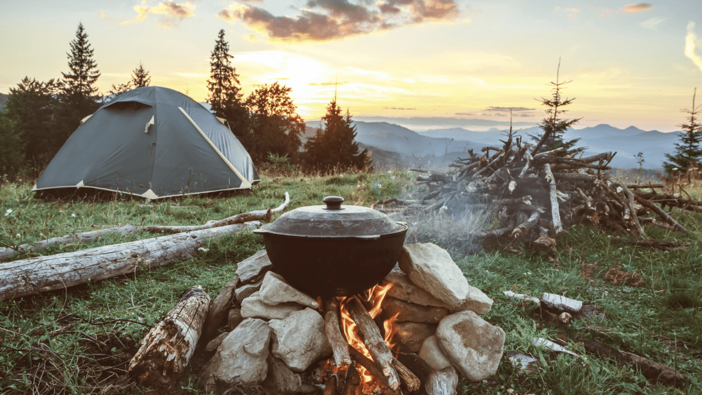 Finding the perfect Campsite