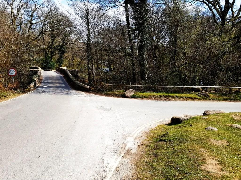 Spitchwick Narrow Bridge