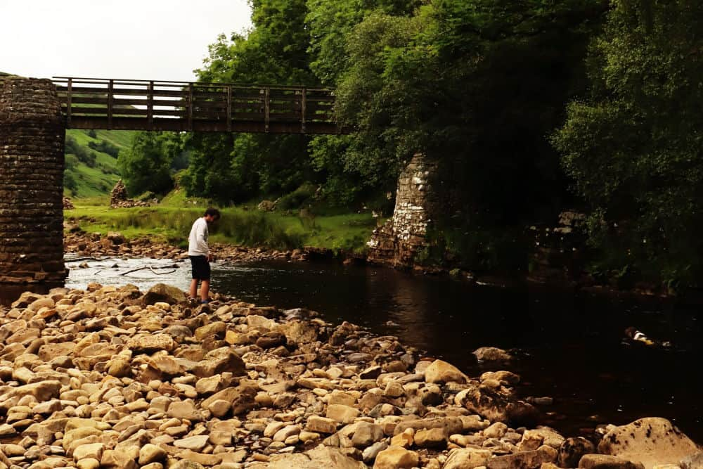Swimming in Swaledale