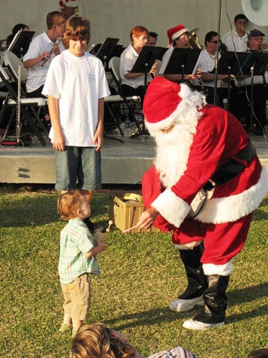 The Keys Community Concert Band invites you to Home for the Holidays, a free outdoor concert at Founders Park, Islamorada. Conducted by Robert Sax, the concert offers something for everyone in the family. The program of holiday favorites includes Leroy Anderson's Sleigh Ride, Feliz Navidad, Frosty the Snow Man, and Winter Wonderland. Santa, with a bag of treats for the kids, will make an appearance. The youngsters, and the young at heart, will also join the Band for one of the selections. Musical guests from the community will please and surprise the adults.