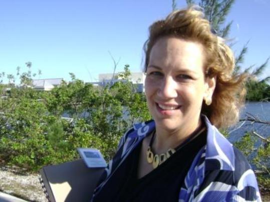 The leading lady at FKCC Dr. Jill Landesberg-Boyle