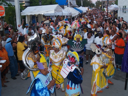 Goombay Summer Fest, a high-energy street festival featuring live music, is scheduled noon to midnight Saturday, June 27