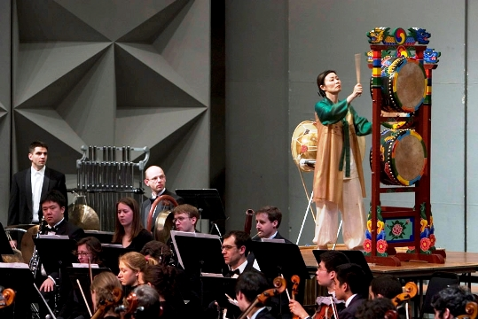 Kim with Orchestra