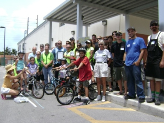 The Jim Malcolm Memorial Bicycle Safety Rodeo is named for Jim Malcolm, the former Key West Pedestrian-Bicycle Safety Coordinator