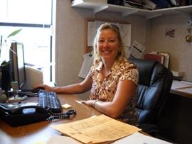 Marathon City Clerk Diane Clavier