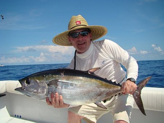 Tuna- Another quality blackfin tuna caught at the humps this past week