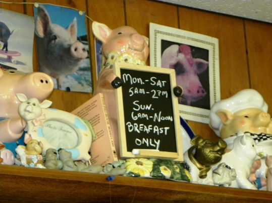 Piggies on the Shelf