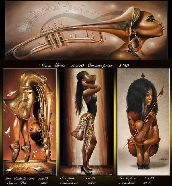 Artist Salaam Muhammad Gallerie 909