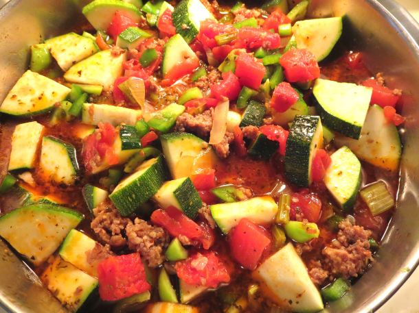 Italian Sausage and Zucchini Soup