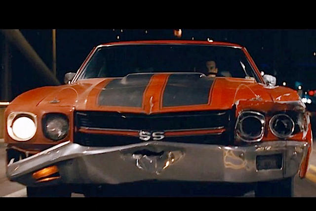 1970 Chevy Chevelle SS shares Hollywood spotlight with Tom Cruise in Jack Reacher 2