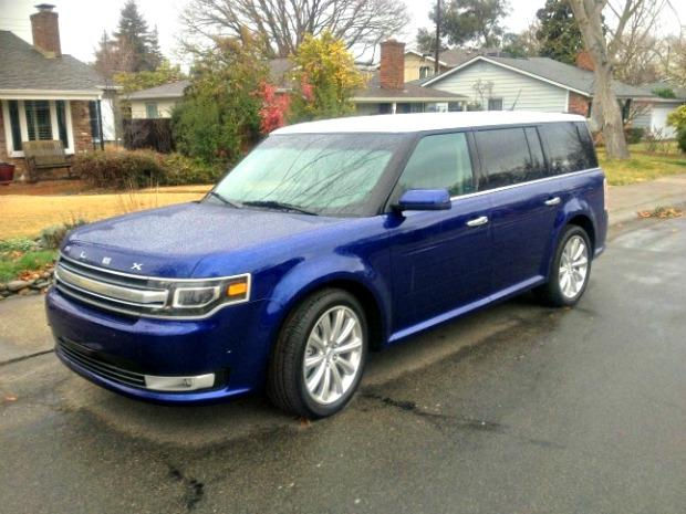 Ford Flex, 2013: New minivan standard for saddle shoes on wheels 1