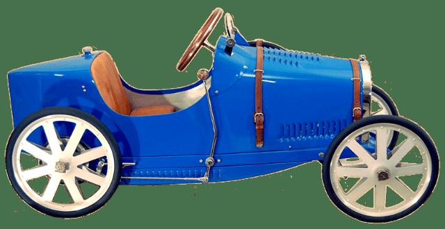 Bugatti As Kinetic Art? Rare Pedal Cars Honor Iconic Brand