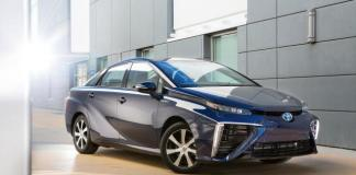 The 2016 Toyota Fuel Cell car has been named Marai .
