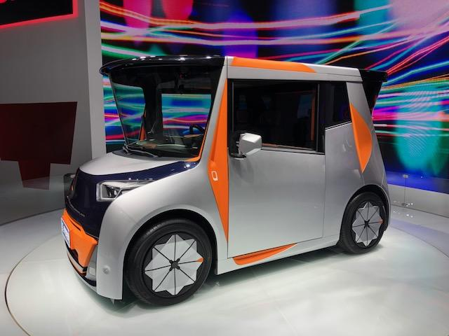 No place like home, office and car all in one new odd EV concept 1