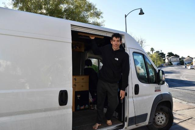 Episode 22, Famed climber Alex Honnold prefers life in a van