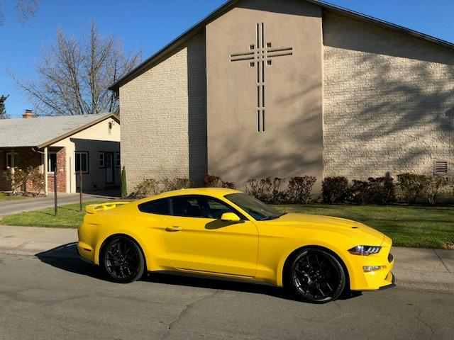 2018 Ford Mustang: Less is more with EcoBoost model 1