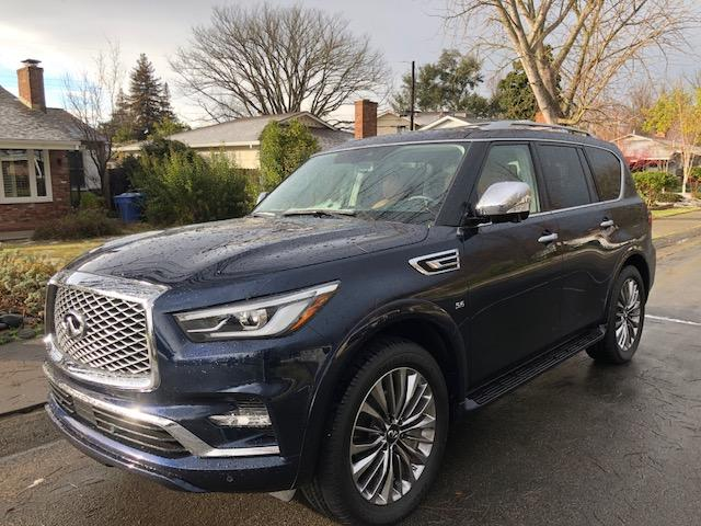 2018 Infiniti QX80: ridiculously big and beautiful 1