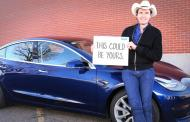 Rare Tesla offered as children's fundraiser giveaway