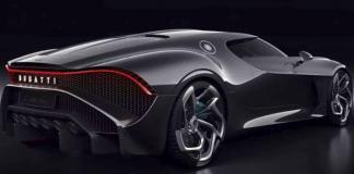 The one-off Bugatti La Voiture Noire sold for $18.9 million.