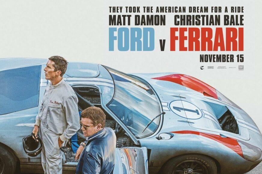 Matt Damon and Christian Bale will star in the movie FORD v. Ferrari.