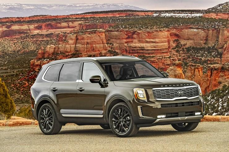 The 2010 Kia Telluride is stellar newbie the crowded SUV market. Image courtesy of Kia.