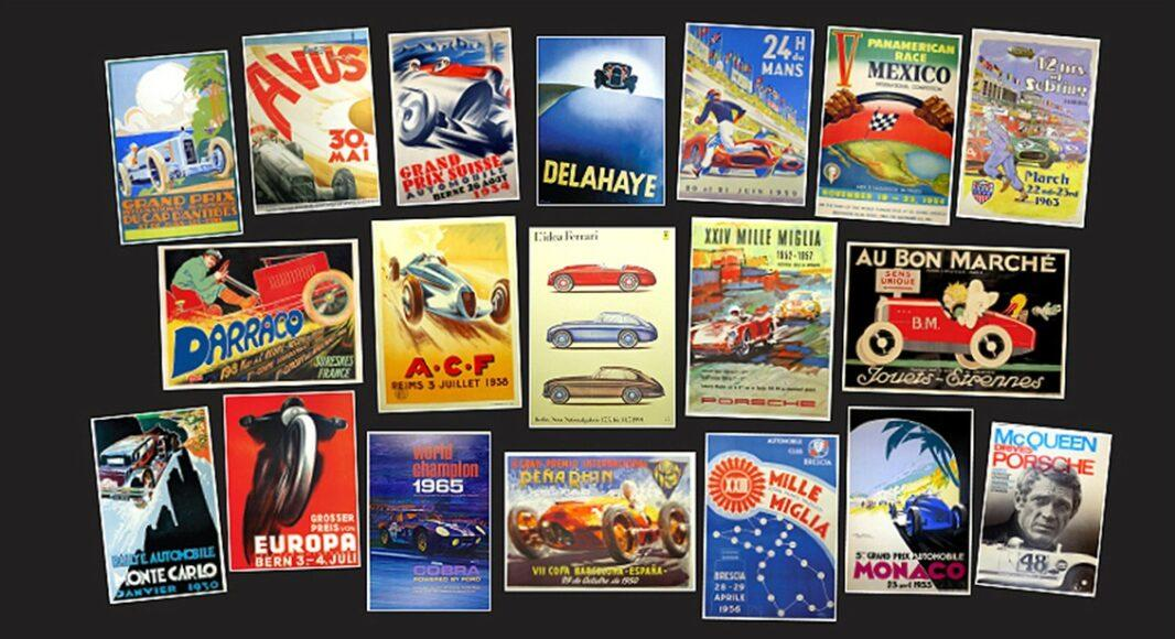 Tony Singer in an expert in the of vintage auto posters