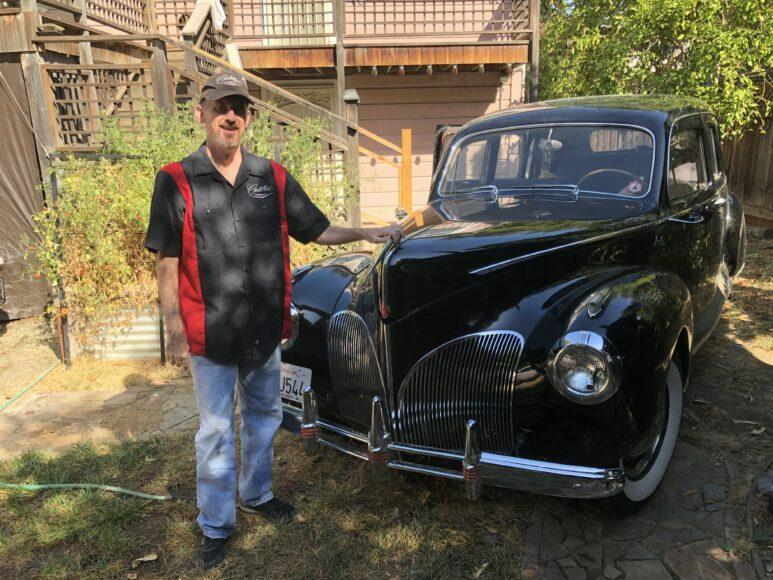 Joe Palmer of Sacramento has a collective of 14 vinage cars.