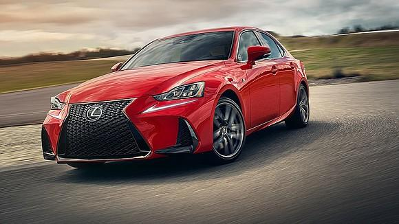The 2019 Lexus IS350 is a worthy sporty sedan with far fewer buyers.