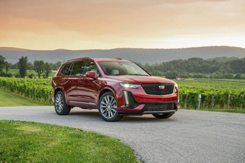 The 2020 Cadillac XT6 is new in the three-row luxury crossover market.