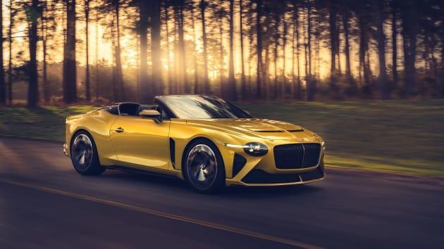 Bentley unveils $2 million car