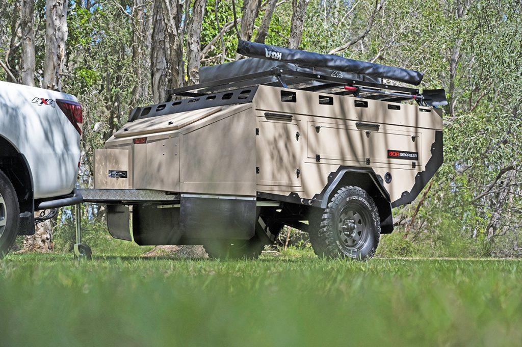 Wacky Aussie trailer a bunker on wheels 3