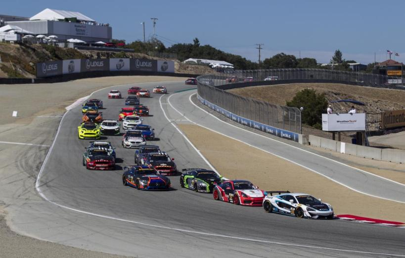 WeatherTech Raceway Laguna Seca gas amended its season calander and will now begin to host competition in July.
