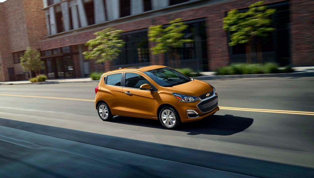 The Chevrolet Spark tops the 2020 cheap car list.