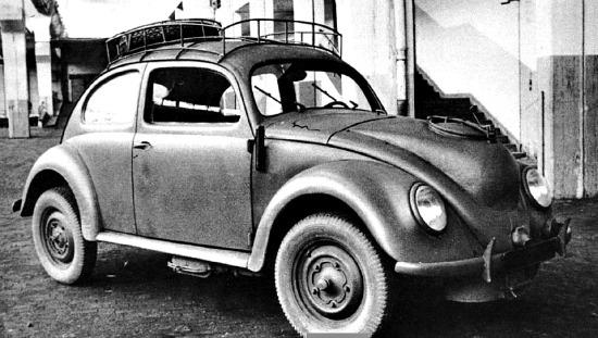 One of the oldest Volkswagen, dating to 1941.