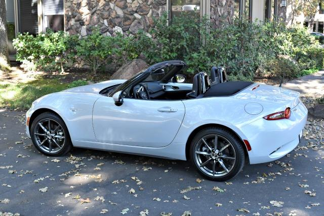zda MX-5 Miata continues the two-seat roadster's impressive tradition.