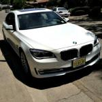 The new refreshed 2013 BMW 750 Li.