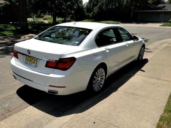 BMW 750Li, 2013: stylish, hi-tech, hefty price