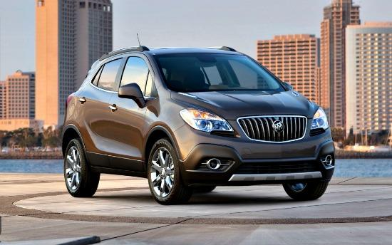 The 2013 Buick Encore is the carmaker's crossver debut