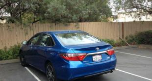 The 2016 Toyota Camry has good overall vision.