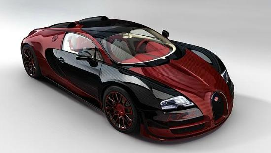The new Bugatti Chiron will accelerate from 0-60 mph in 2.0 seconds.