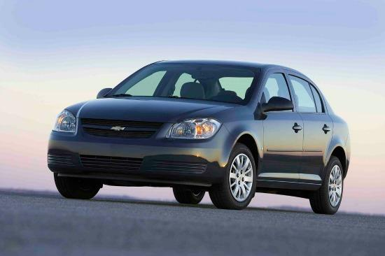 The 2010 Chevy Cobalt is among several GM cars with faulty ignition issues.