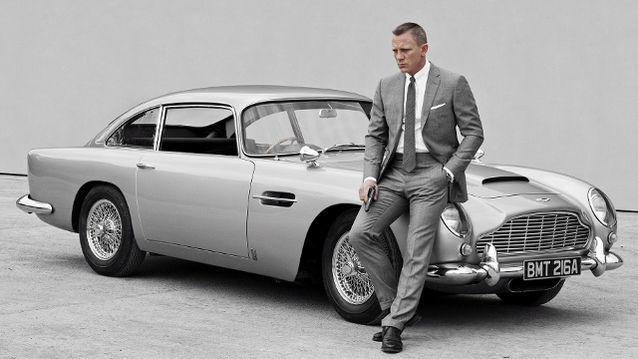 James Bond cars, Sunbeam Alpine to Aston Martin DB10