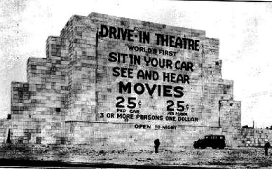 Honda is driving the SaveTheDriveIn campaign. Pictured is the first drive in New Jersey.