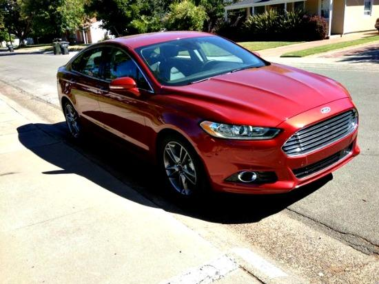The Ford Fusion has been redesigned for 2013.