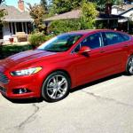 The 2013 Ford Fusion is slightly longer than previous models.