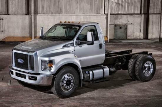 PREVIEW: 2016 updated Ford F-650, F-750 series