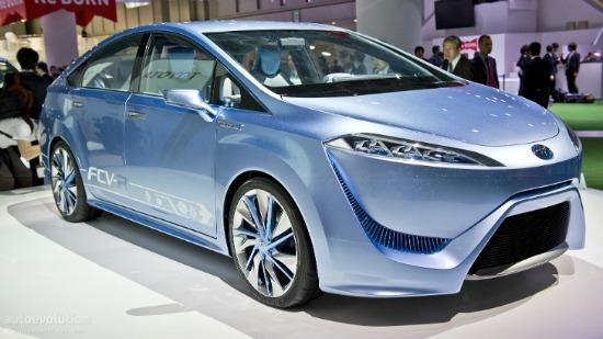The Toyota hydrogen fuel cell car could debut be in the U.S. market in 2015.