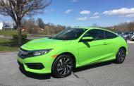 2016 Honda Civic Coupe: Wild design, wild color, nearly perfect